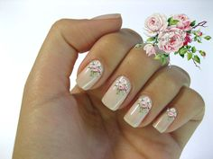 112 Best Water Decal Nail Art Images On Pinterest Blue