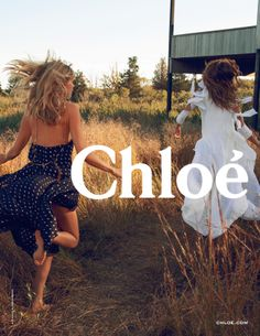 Julia Stegner and Lou Doillon by Inez & Vinoodh for Chloé Spring-Summer 2014 campaign
