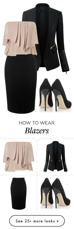 """Untitled #467"" by aowens99 on Polyvore featuring Chicsense, Alexander McQueen, Cédric Charlier and Jimmy Choo"