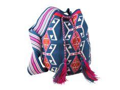 Wayuu bag from Guanabana handmade Mochila Crochet, Crochet Bags, Knit Crochet, Tapestry Bag, Printed Bags, Crocheting, Handbags, Patterns, Sewing