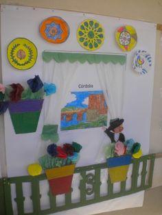 Flamenco Party, International Festival, Sunday School, Ideas Para, Toddler Bed, Kids Rugs, Birthday, Frame, Diy