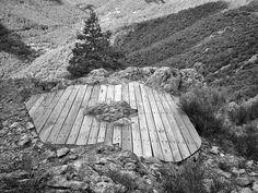 gilles clément - le belvédère des lichens, parc régional des monts d'ardèche, france, 2010
