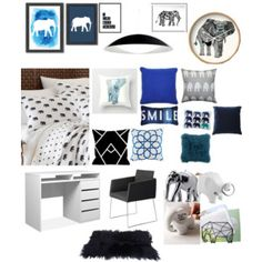 Elephant theme made with little sis