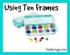 Using Ten Frames heidisongs.com