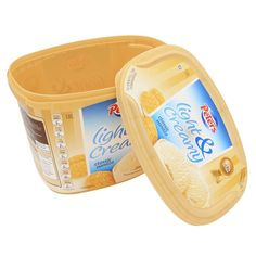 Custom Design Plastic Food Container,Ice Cream Topping Plastic Disposable Container