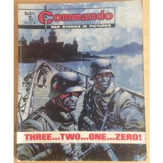 Commando Comic Picture Library #974 War Action Adventure