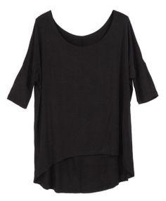 Chicnova Loose Batwing Short Sleeves T-Shirt