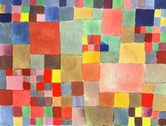 Flora on Sand, Paul Klee, 1927