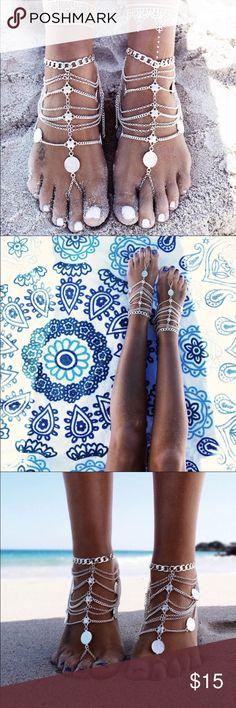 Boho Leg Bracelet Feet jewelry. Barefoot sandals retro ankle chain foot jewelry. Coming very soon! Jewelry