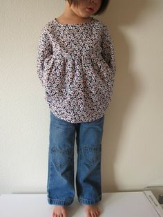 """""""tunic blouse"""" by nested in stitches"""