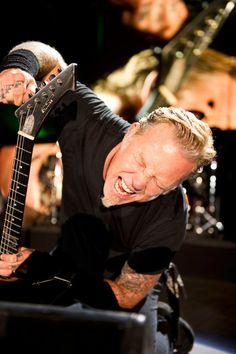 James Hetfield of Metallica Cliff Burton, Robert Trujillo, James Hetfield, Black Metal, Rock Y Metal, Jason Newsted, Music Is Life, My Music, Bass