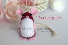 """HeartFelt Hoots - Limited Edition Valentines Collection;   """"Sugarplum""""   Details over at facebook page HeartFelt Hoots."""