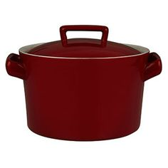 House by John Lewis Casserole, 3L , Red £25