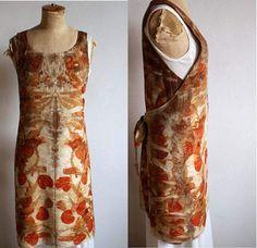 apron dress in flannel...