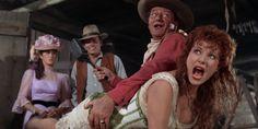 McLintock! (1963) John Wayne Western Movies, Films Western, John Wayne Movies, Yvonne De Carlo, George Washington, Spanked Wife, Westerns, Spanking Art, Patrick Wayne
