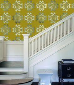 retro behang geel grijs zilver xx1 | RETRO BEHANG | ABCBEHANG de grootste behangwinkel van nederland direct uit voorraad leverbaar