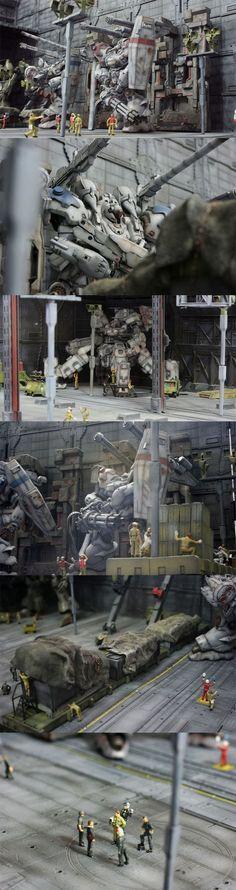 Gundam Diorama: