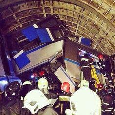 Авария в московском метро глазами очевидцев. - Фотосюжеты - Интерфакс