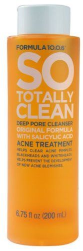 So totally clean deep pore cleanser by Formula unrivaled cleanser wipes away dirt, oil, and impurities to clear pores and refresh skin. Black Spots On Face, Brown Spots On Hands, Dark Spots, Fade Skin, Dry Skin, Salicylic Acid Acne, Skin Moles, Pore Cleanser
