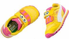 PUMA Toddlers infants Sesame Street Street Runner Big Bird yellow pink  362889-01  Puma  36288901 f0bc7d624