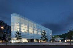 *화이트 실크 스크린 & 더블 스킨 파사드 [ Benthem Crouwel Architects ] Kulturbau :: 5osA: [오사]