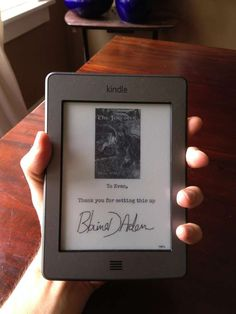 Author signings are going digital...  Many ATTMPress authors are signed up for Kindlegraph