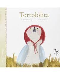 Tortololita é unha pequena tórtola curiosa que cando a súa mamá a deixa soa para ir á compra cae do niño e rompe o pico. Pero o que parecía ser mala sorte transfórmase en boa sorte. Un libro para compartir cos máis pequenos para introducilos no mundo dos libros.
