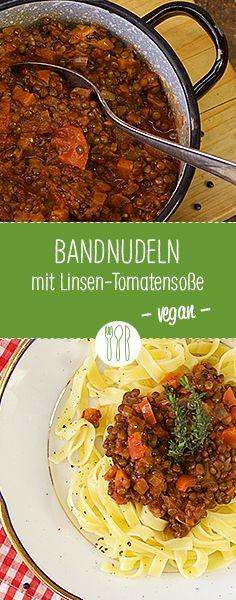 Es muss nicht immer Fleisch sein! Die vegane Variante einer Pasta à la Bolognese … #diehauswirtschafterei #bayerischveggie