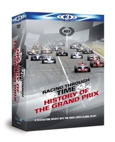 """DVD """"The History of Grand Prix"""""""