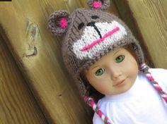 Teddy Bear Hat by 123MULBERRYSTREET on Etsy, $11.00