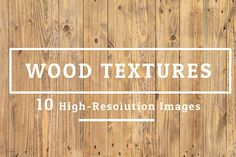 10 Wood Texture Background Set 005 by FWStudio on @creativemarket