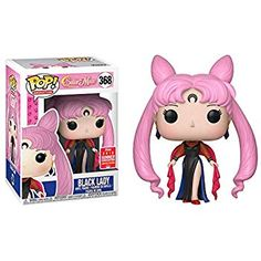 We all know Sailor Chibi Moon didn't mean to turn into Black Lady, but that doesn't mean she needs to get left out of your Sailor Moon collection. Sailor Moon S, Pop Vinyl Figures, Funko Pop Anime, Funko Pop Dolls, Pop Figurine, Funk Pop, Funko Figures, Pop Toys, Pokemon