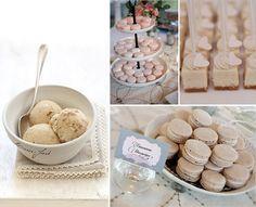 18 beige kuchen Eiscreme herz Schokolade hochzeit essen idee Hochzeit in Beige – Naturfarben Hochzeit Inspiration