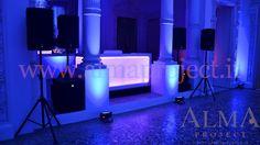 + ALMA PROJECT @ Palazzo Gerini - Dj Eva Console - PA system - Battery Led Pars 2
