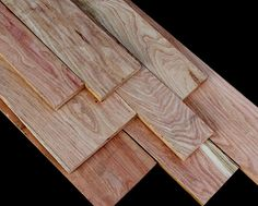Honey Locust, Gleditsia triacanthos can reach a height of 65'–100' feet and produce dense and durable lumber that works well and takes a nice polish. Logs are also used for posts and rails since the wood takes a long time to rot.