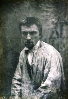 Auguste Rodin  Paris, ca 1862 [ab. 22y] -by Charles Hippolyte Aubry