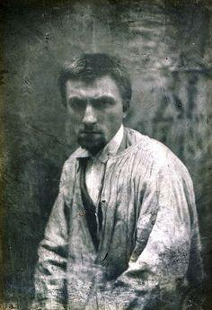 Auguste Rodin  Paris, ca 1862 [ab. 22y] -by Charles Hippolyte Aubry