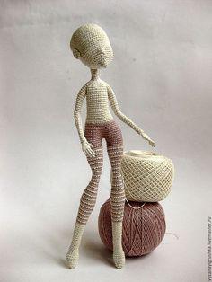 Вязание ручной работы. Мастер-класс по вязанию Основа для куклы. Вера Терекбаева. Интернет-магазин Ярмарка Мастеров. Мастер-класс