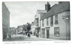 (E794) BICESTER POSTCARD - Circa 1905 - MARKET PLACE - NOT POSTED | eBay