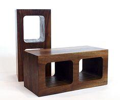 On the Block: Cinder Blocks as Design Elements