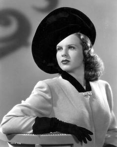Such a forgotten star,Deanna Durbin was a terrific actress and singer from the 40's.