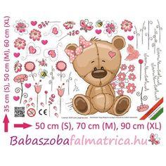 Teddy maci babaszoba falmatrica #babaszoba #teddy #maci #gyerek #falmatrica #gyerekszoba #faldekoráció Teddy Bear, Toys, Animals, Activity Toys, Animales, Animaux, Toy, Teddy Bears, Animal Memes