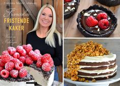 Super gode og sunne smoothie is - Franciskas Vakre Verden Black Magic Cake, Beste Brownies, Oreo Desserts, Pavlova, Summer Recipes, Cake Recipes, Raspberry, Sweet Tooth, Food And Drink