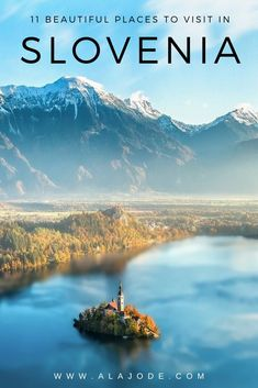 11 Of The Most Beautiful Places In Slovenia. Planning a trip to Slovenia? Add this 11 incredible spots to your Slovenia itinerary. Beautiful Places To Visit, Cool Places To Visit, Places To Go, Top Travel Destinations, Europe Travel Guide, Travel Things, Slovenia Travel, Visit Slovenia, Bohinj