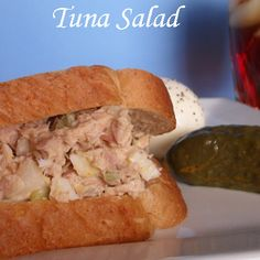 My Tuna Salad Recipe! YUM!