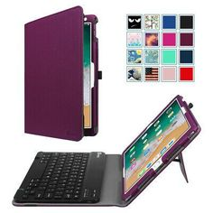 (Ad) For iPad Air 10.5'' 3rd Gen 2019 Folio Case Cover Stand with Bluetooth Keyboard Acrylic Nail Designs, Acrylic Nails, Ipad Air Wallpaper, Bluetooth Keyboard, Microsoft Surface, Iphone Accessories, Cool Eyes, Apple Ipad