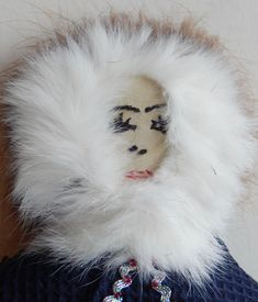 Items similar to Inuit Eskimo Alaskan Art DOLL Traditional Clothing: Leather. fur, cloth about high, signed JoAnn Tootkaylok on Etsy Alaskan Brown Bear, Inuit Art, Turquoise Glass, Vintage Flowers, Traditional Outfits, Art Dolls, Vintage Items, Fur, Clothing