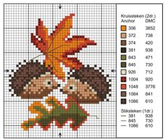 Thrilling Designing Your Own Cross Stitch Embroidery Patterns Ideas. Exhilarating Designing Your Own Cross Stitch Embroidery Patterns Ideas. Hedgehog Cross Stitch, Fall Cross Stitch, Mini Cross Stitch, Cross Stitch Cards, Cross Stitch Animals, Cross Stitching, Cross Stitch Embroidery, Embroidery Patterns, Hand Embroidery