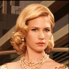 Betty draper hair