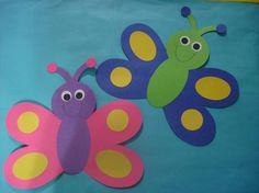 butterfly door decs to go with my pond theme for next year! Preschool Door, Preschool Craft Activities, Infant Activities, Classroom Cubbies, Classroom Themes, Cubby Tags, Toddler Teacher, Door Decs, Butterfly Decorations